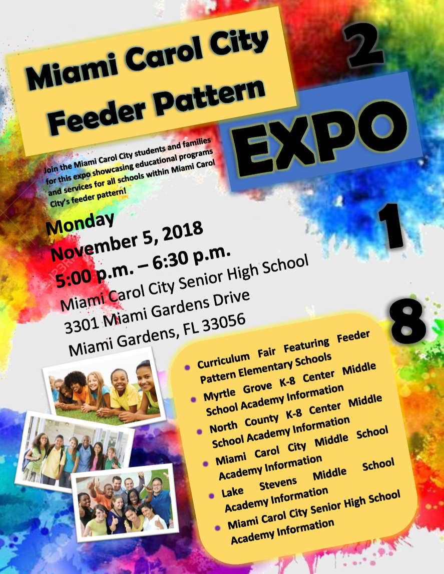 Miami Carol City Feeder Pattern Expo