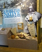 Display in the Mormon Fort