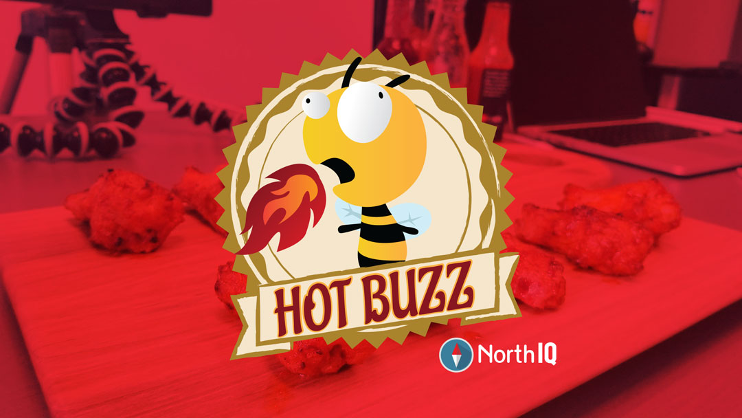 How we came up with the Hot Buzz logo, intro, and theme song
