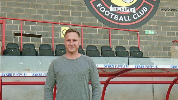 ebbsfleet united manager Dennis Kutrieb