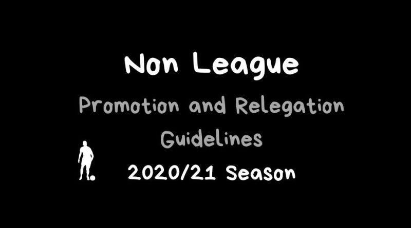 North Kent Non League promotion relegation 2020 2021