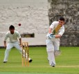 Sean D - on the day not only captain and opener but also wicky... NKCC against RCC - June fun!