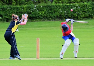 RS plays the ball with ease and style... a vivid reminder to all how it should be done!!