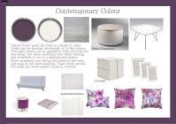 Diploma Assignment: Contemporary Colour Scheme