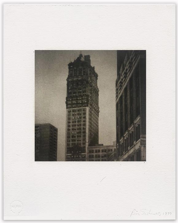"""Bill Schwab – """"Book Tower, Detroit 2012"""""""