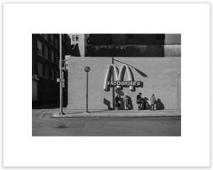 "Bill Schwab – ""Bus Stop – Shelby Square, Detroit 1979"""