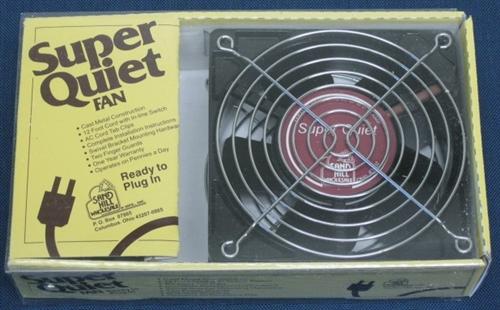 Super Quiet Fan