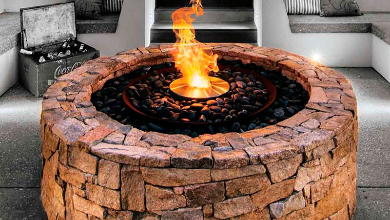 Ethanol Fire Pits A Great Alternative For A Small Deck Or Patio