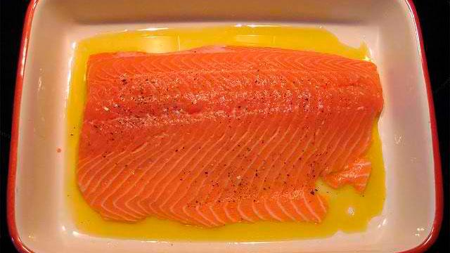 Preparing Salmon for the Grill