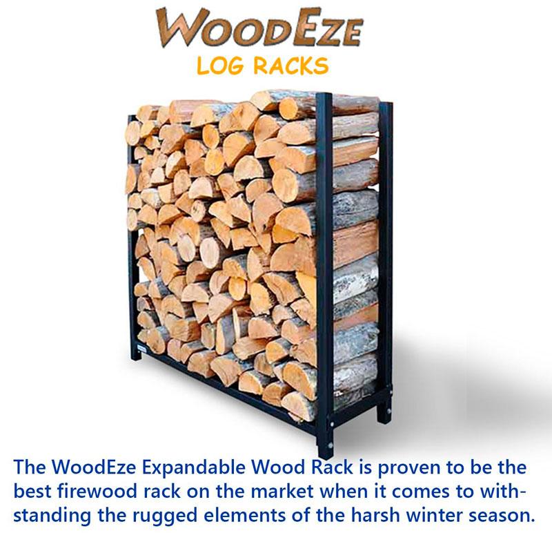 WoodEze Expandable Wood Rack