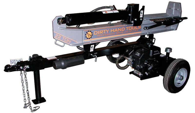 The Dirty Hand Tools 22-Ton Gas Log Splitter