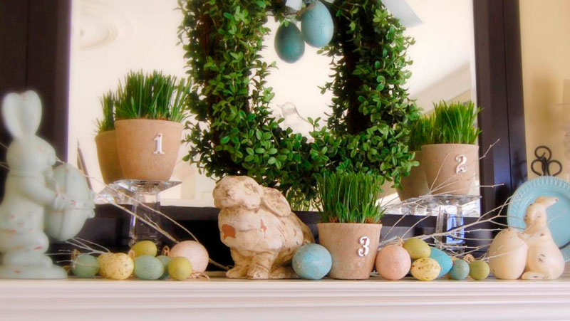 Decorating your Firebox for Spring