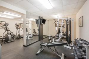 Wyndham Riverfront Little Rock fitness center