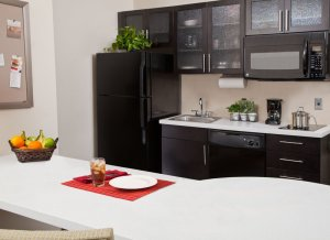 Candlewood Suites North Little Rock Arkansas - kitchen