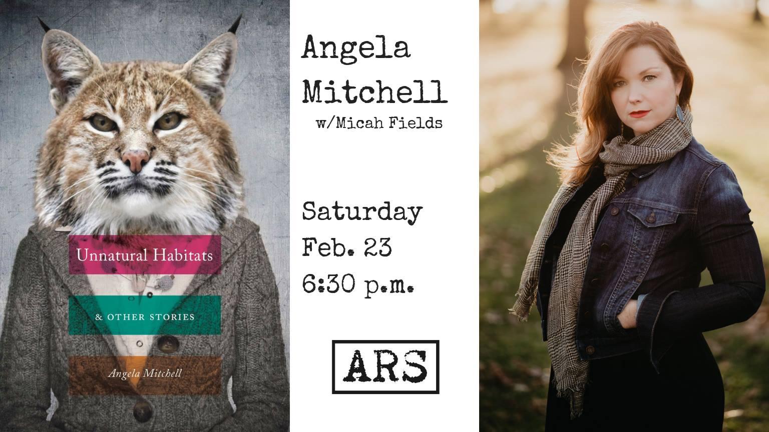 Angela Mitchell at Argenta Reading Series