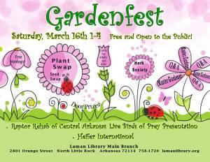 GardenFest Laman Library North Little Rock