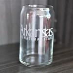 Arkansas Beer Glass