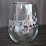 Dogtown Wine Glass