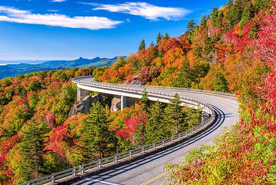 Blue Ridge Parkway Linn Cove Viaduct