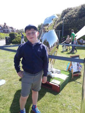 2018 Gardening festival - GoGoHare visits Cromer