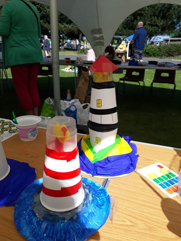 2018 Gardening festival - Lighthouse creation