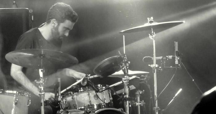 Drummer Joe Nicklin