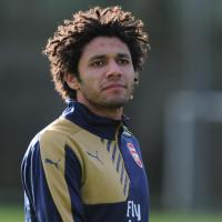 elneny in arsenal training