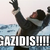 Rocky shouting Ivan Gazidis' name