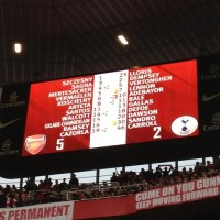 Arsenal 5 Spurs 2