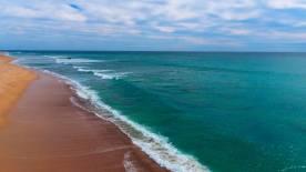 Drone Beach Shot