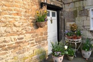 Cottage Floral Entrance