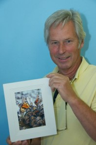Andrew Robinson with prize winning photograph