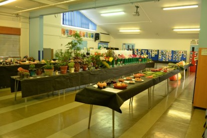 Hall full of entries