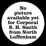 2596 Corporal Bertie H Smith