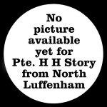 25753 Private Herbert Henry Storey