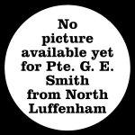 38236 Private George Edward Smith