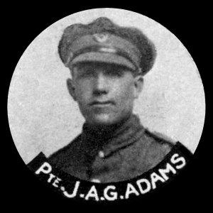 66112 Private John Alfred George Adams