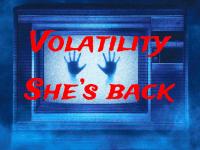 Volatility, She's Back