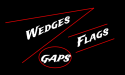 Wedges, Flags and Gaps