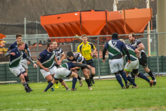 Alliance attack against Grand Prairie Mavericks - Texas Rugby