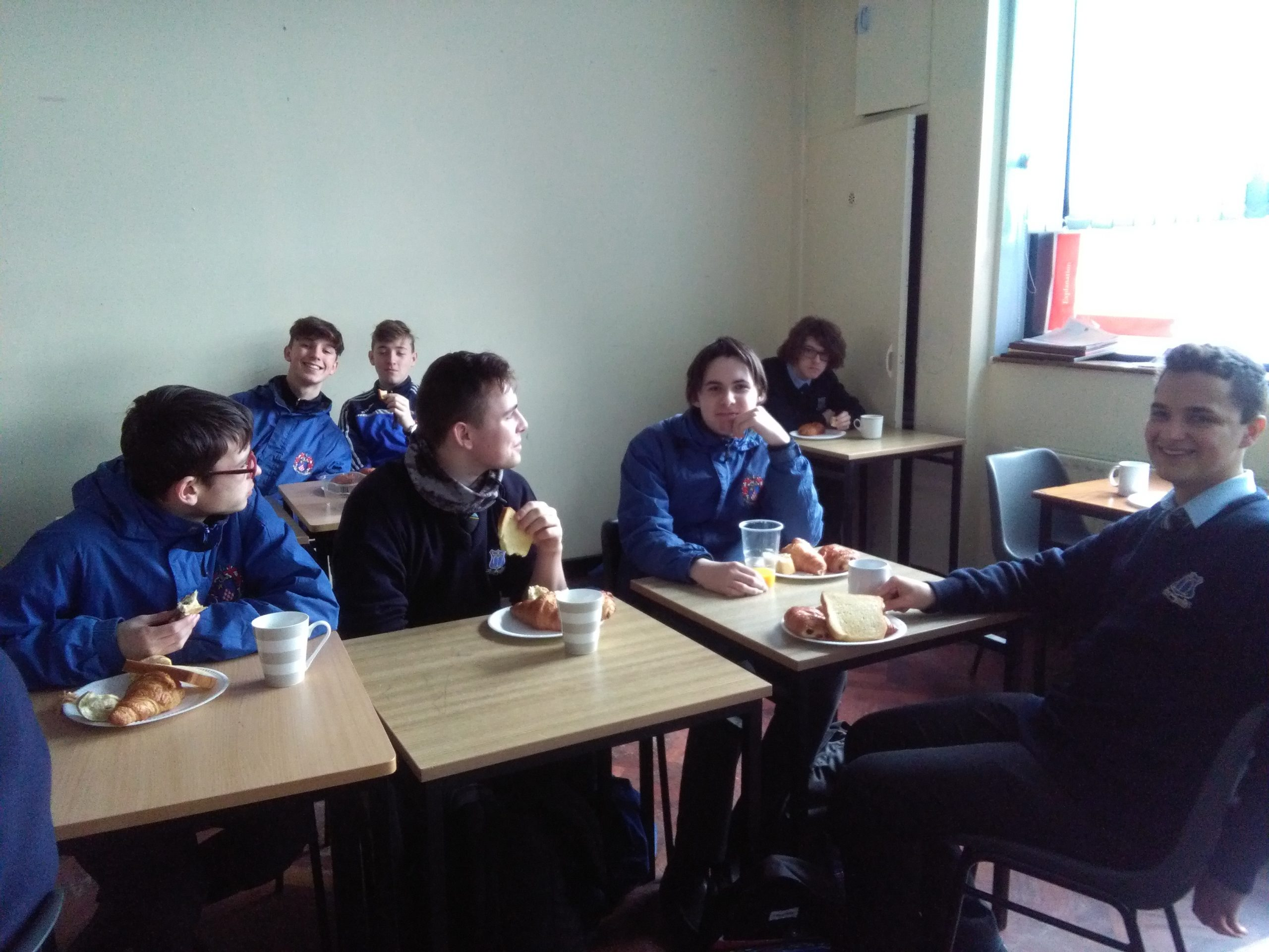 """Le petit dejeuner"" with Transition Years"