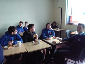 """""""Le petit dejeuner"""" with Transition Years"""