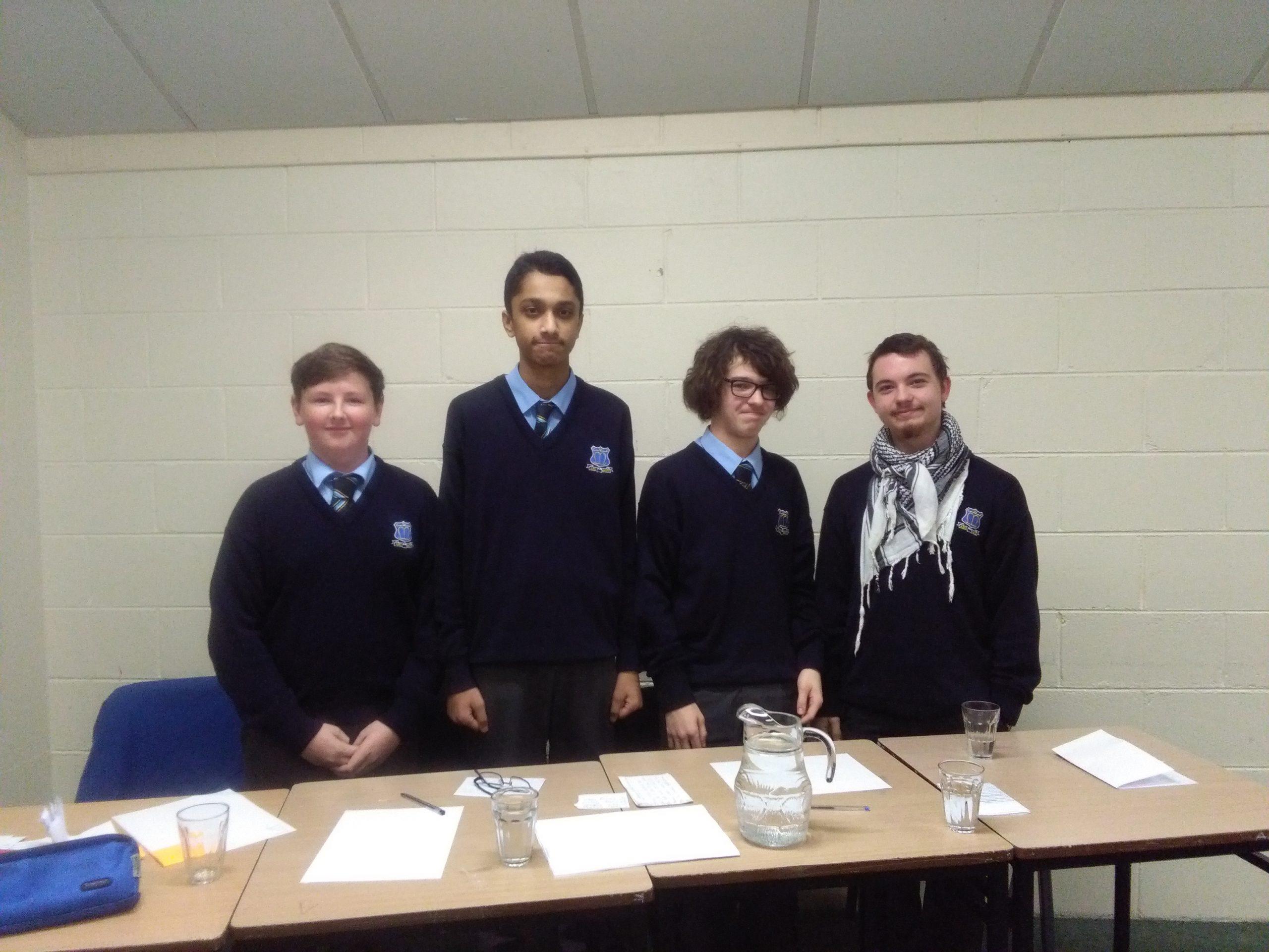 Triumphant Debate Team