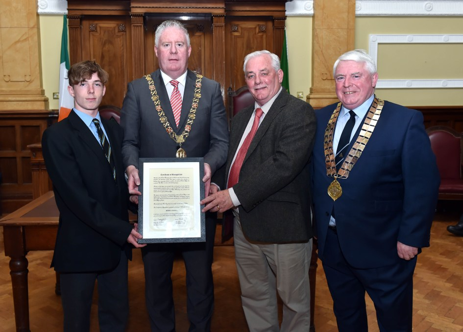 PPU Presentation to past Lord Mayor Michael O'Connell Fri 17th May 2019.