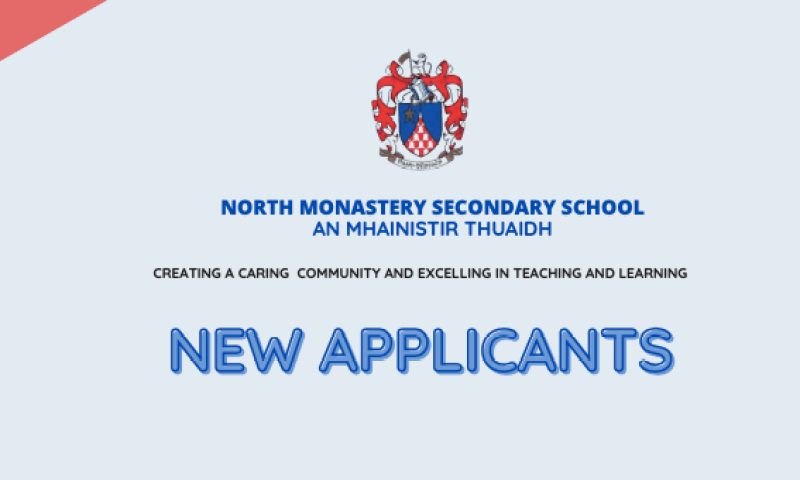 Annual Admission Notice & New Applicants