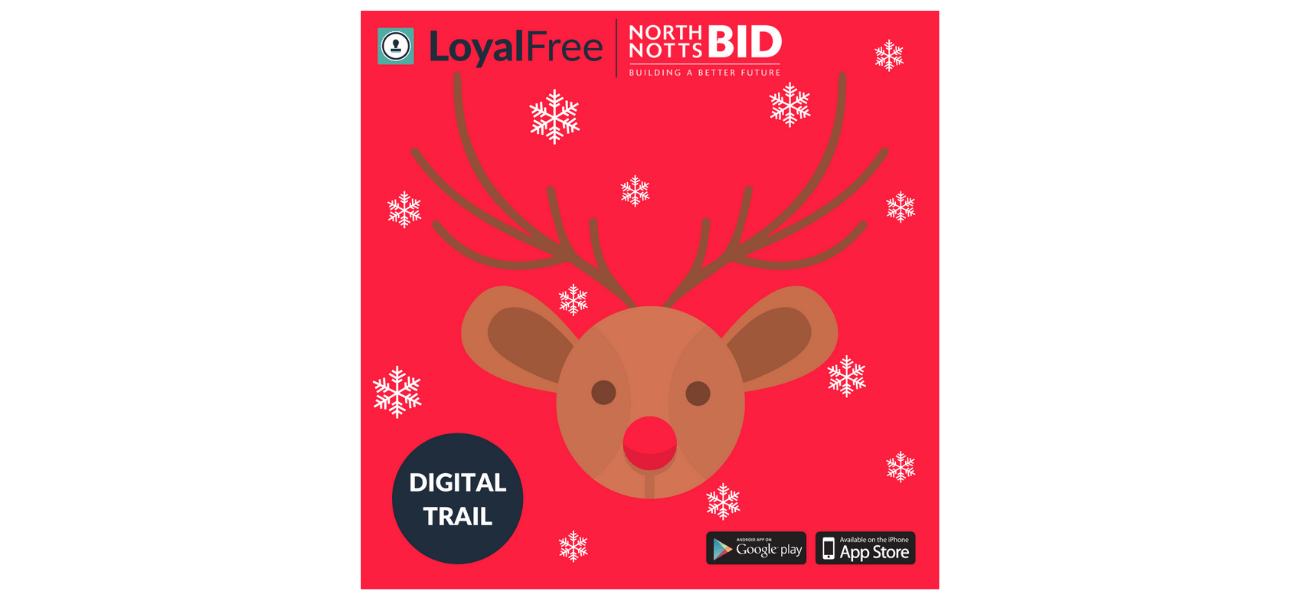 Join our Christmas Reindeer Trail in North Notts