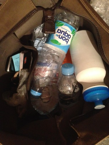 water bottle wasteland