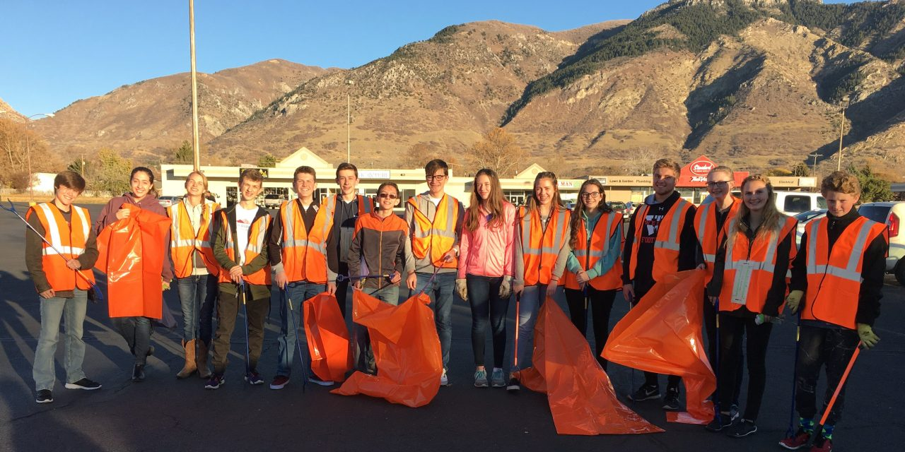 Youth Council Roadside Clean Up