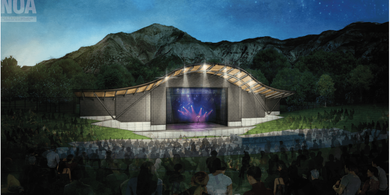 Amphitheater Expansion Groundbreaking