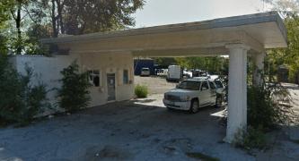 Mobil Station, 24th and Willis, North Omaha, Nebraska